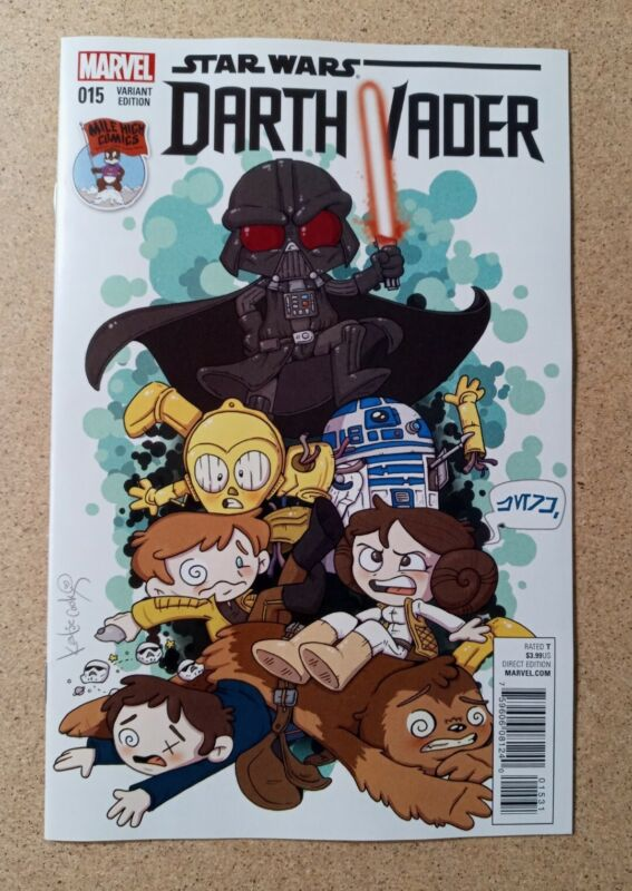 Star Wars Darth Vader 15 Mile High Variant Marvel Comics