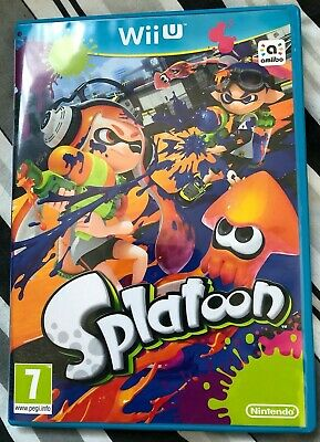 Splatoon - Wii U - USED - Nintendo