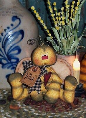 Patti's Ratties Primitive Bee Ornie Doll Paper Pattern #313