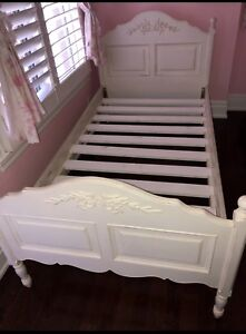 Girls twin bed - Pottery Barn Like