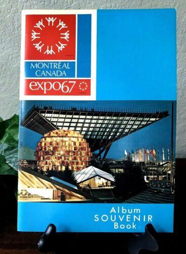 Expo67 Montreal Canada Album Souvenir Book 1967 World