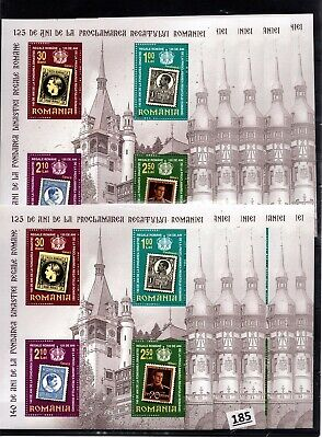 /// 10X ROMANIA 2006 - MNH - STAMPS, ARCHITECTURE, FAMOUS PEOPLE