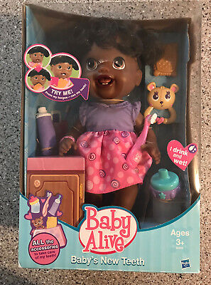 NEW RARE Original Baby Alive Baby's New Teeth Doll w/ Accessories HARD TO FIND, used for sale  Middleton
