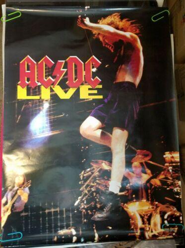 AC/DC LIVE VINTAGE 1992 ATLANTIC RECORDS PROMOTIONAL PROMO POSTER -NICE!
