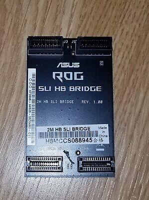 Brand New Genuine Asus Rog Hb 2 Way Sli Bridge High Bandwidth