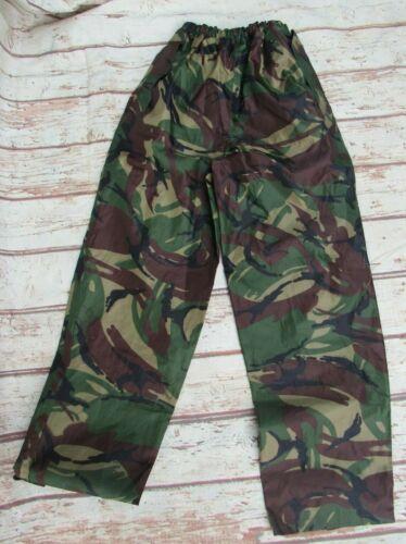 Highlander camouflage waterproof trousers Age 12-13 years 150cm