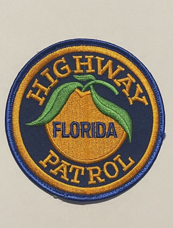 Florida Highway Patrol Patch Police