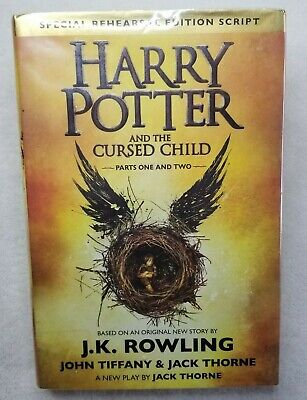 Harry Potter and the Cursed Child Parts1&2 Special Rehearsal Edition Script 1st