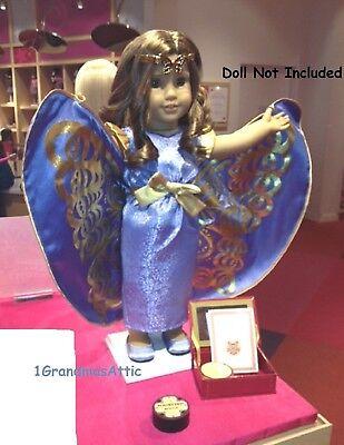"American Girl REBECCA SCHOOL PLAY SET for 18"" Dolls Costume"