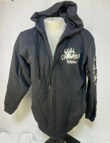 COAL CHAMBER RIVALS ZIPPED HOODIE official merchandise NEW