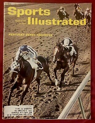 Sports Illustrated March 12, 1962 Kentucky Derby Decidedly Bill Barrack Horse 1962 Sports Illustrated Magazine