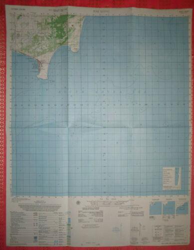 6630 i - SOUTH CHINA SEA - US MAP - HAI LONG - March 1969 - HON LAO, Vietnam War