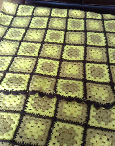 Large Warm Crochet Blanket