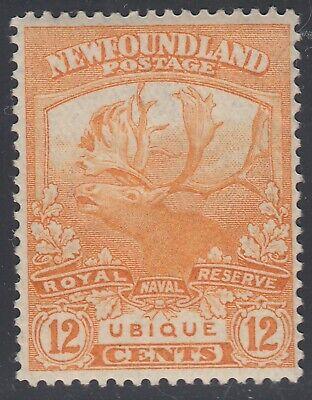 Newfoundland # 123 Mint Hinged Very Fine Single