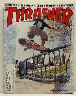 e3521a99d8 Thrasher Skate Skateboarding Magazine Issue 235 August 2000 Toan Nguyen