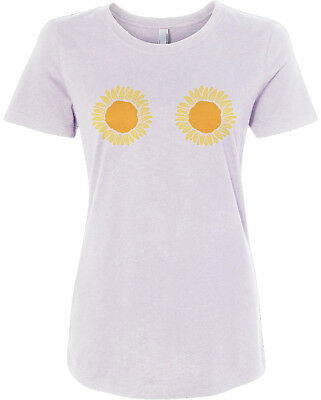 Sunflower Themed Party (Sunflower Bikini Women's Fitted T-Shirt Outdoor Wedding Party)