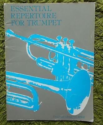 Essential Repertoire for Trumpet & Piano - Jones / Boustead Inc. part - UE12962