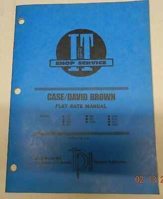 Casedavid Brown C-30 It Flat Rate Manual