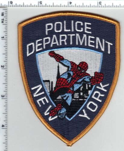 New York Spiderman Police Department Novelty Shoulder Patch
