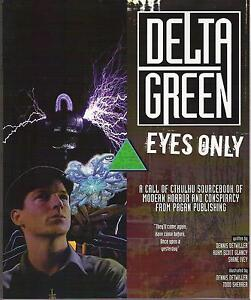 Call of Cthulhu: Delta Green - Eyes Only (Pagan Publishing)