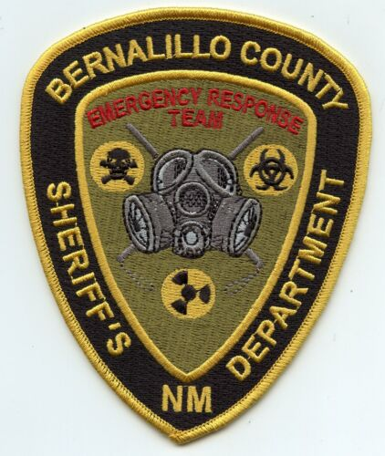 BERNALILLO COUNTY NEW MEXICO NM Emergency Response Team ERT SHERIFF POLICE PATCH
