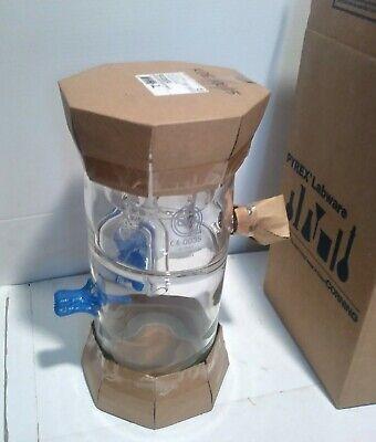 Qvf Engineering M607611-460148 Duran Glass Reactor Apparatus Sk32824