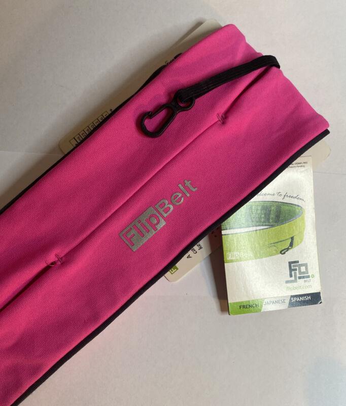 FlipBelt Classic Edition Running Belt-Size Large or 10-12 Hot Pink