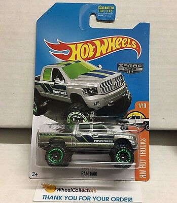 Ram 1500 * ZAMAC * 2017 Hot Wheels * K4