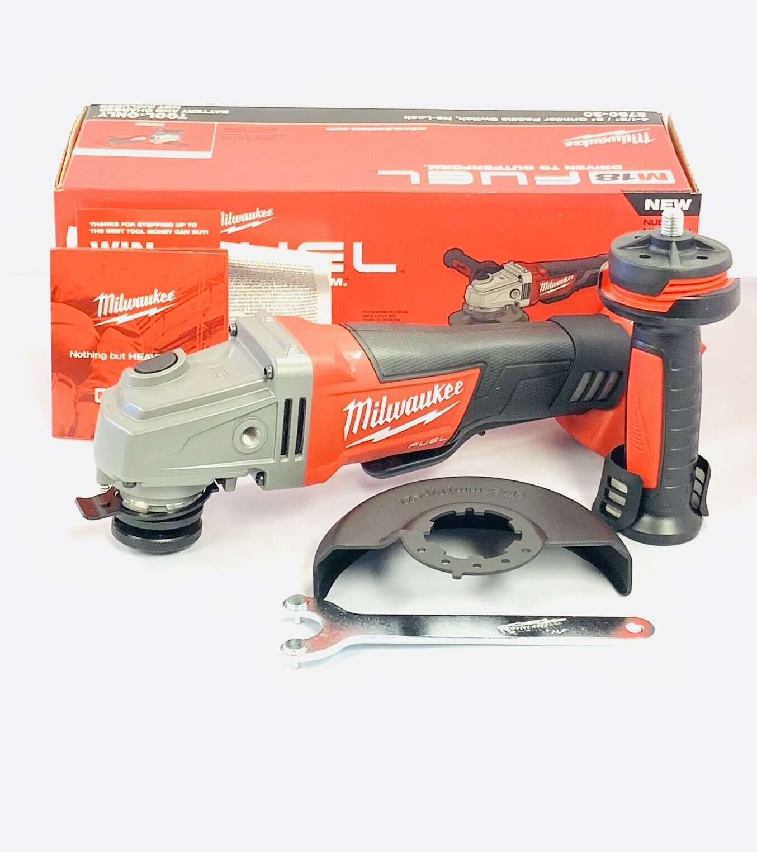 Milwaukee M18 FUEL 2780-20 Cordless Brushless Grinder 4 1/2,