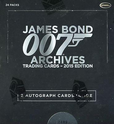James Bond Archives 2015 Edition Card Box