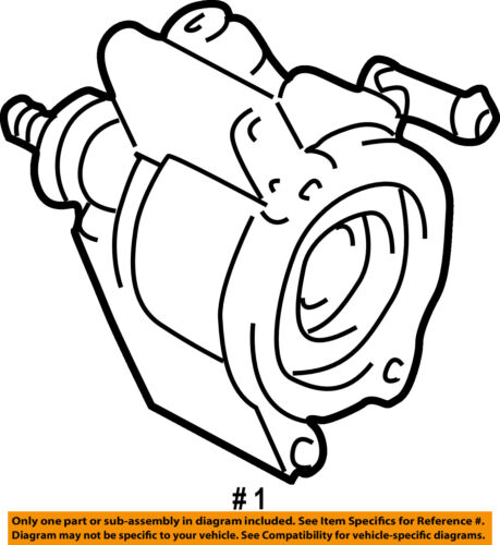 Toyota Oem 01 05 Rav4 Power Steering Pump 4431028270