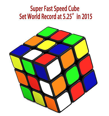 Fastest Speed cube 3x3 3x3x3 magic twist puzzle,World Record 5.25s