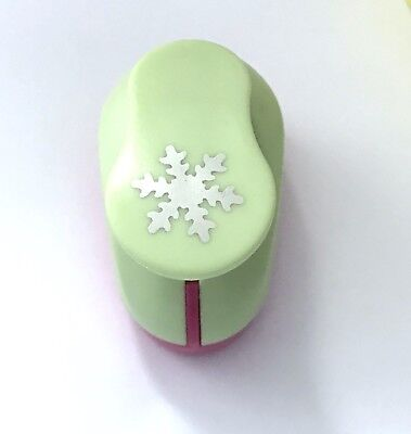 """1"""" Large Snowflake Paper Punch Cutter Scrapbooking Punches Punches Craft Puncher"""
