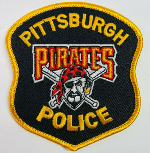 Pittsburgh Police Pirates Baseball Pennsylvania PA Patch (A1)