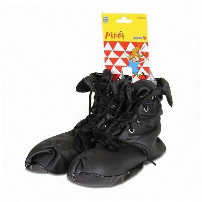 Pippi Langstrumpf 44.3605.00 - Pippi Schuhe zum Verkleiden, für Kinder ab (Kinder Schwarz Kostüm Schuhe)
