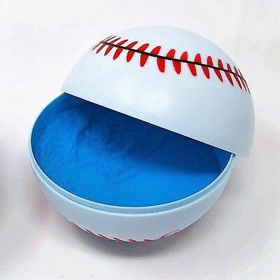 Blue Gender Reveal Baseball - 1 Blue - Baseball Baby Shower Decorations