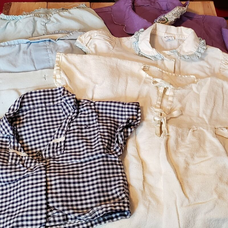 Vintage Baby Clothes Assorted Lot Misc Sizes Styles Preowned