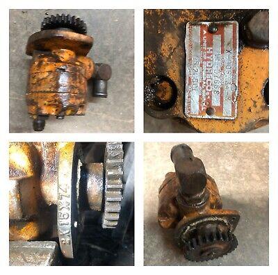 Case 850 Hydraulic Pump Or Motor Torque Converter Or Hydraulic System Hydreco