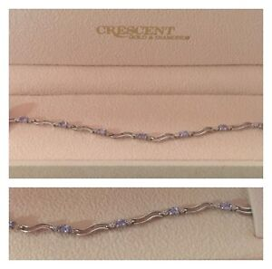 Diamond and Aquamarine Bracelet