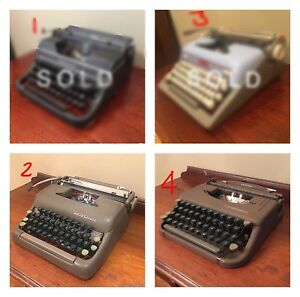 Typewriter Collection-Vintage Portable-Assorted