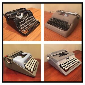 Antique Typewriters -Portable - Assorted Prices / Brands
