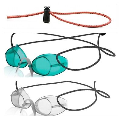 9281b947a4b Sporti Swedish Swim Goggles Antifog 1 Each Clear Green + Bungee Strap (2  Pack)