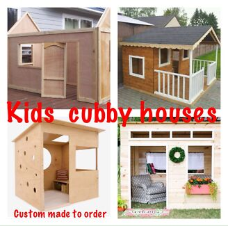 Cubby house - custom made to your requirements