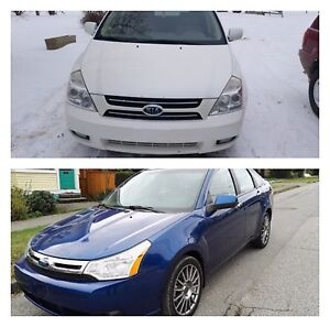 Kia Sedona for parts Ford Focus for parts
