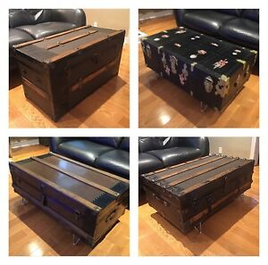 Antique Trunk - Coffee Table- Assorted Prices/ Types