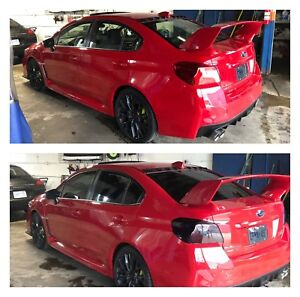 Professional vehicle wraps and window tinting