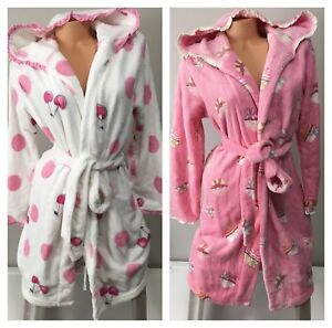 LA SENZA FLEECE ROBE - NWT - S / M - SMALL MEDIUM