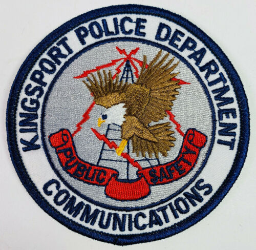 Kingsport Police Communications Public Safety Tennessee TN Patch A5