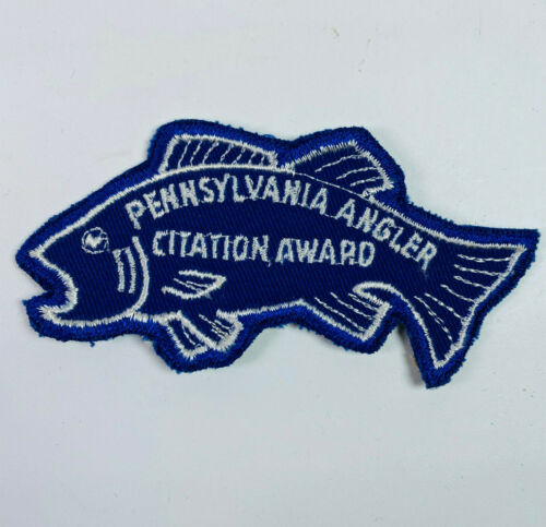 Pennsylvania Fish & Boat Commission Angler Citation Award Patch (A5-A)