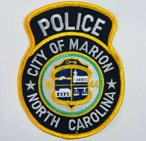 Marion Police McDowell County North Carolina NC Patch A2